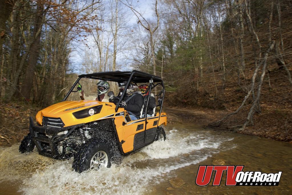 2012 Kawasaki Teryx4 750 4x4 Eps Utv Off Road Magazine