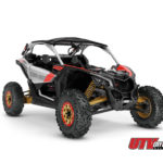 2019 Maverick X3 X rs TURBO R Gold, Can-Am Red _ Hyper Silver