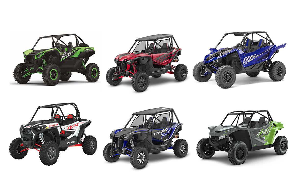 KRX1000 vs YXZ vs RZR vs Talon vs Wildcat