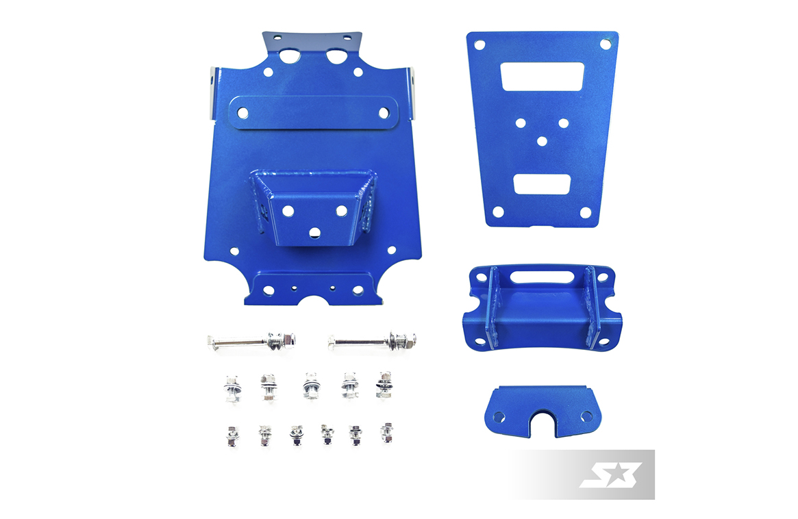 S3 powersports Can-Am full front bracing kit