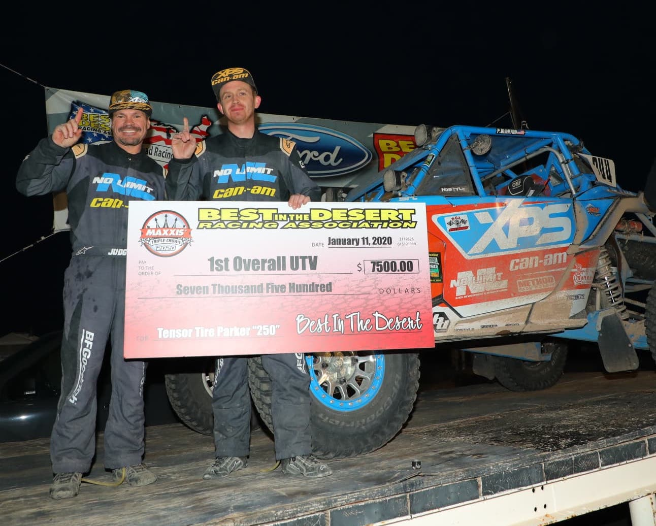 Can-Am Maverick X3 Pilot Phil Blurton Wins BITD Racing Opener