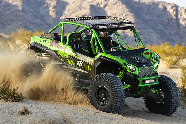 Jeremy McGrath's Kawasaki Teryx KRX 1000