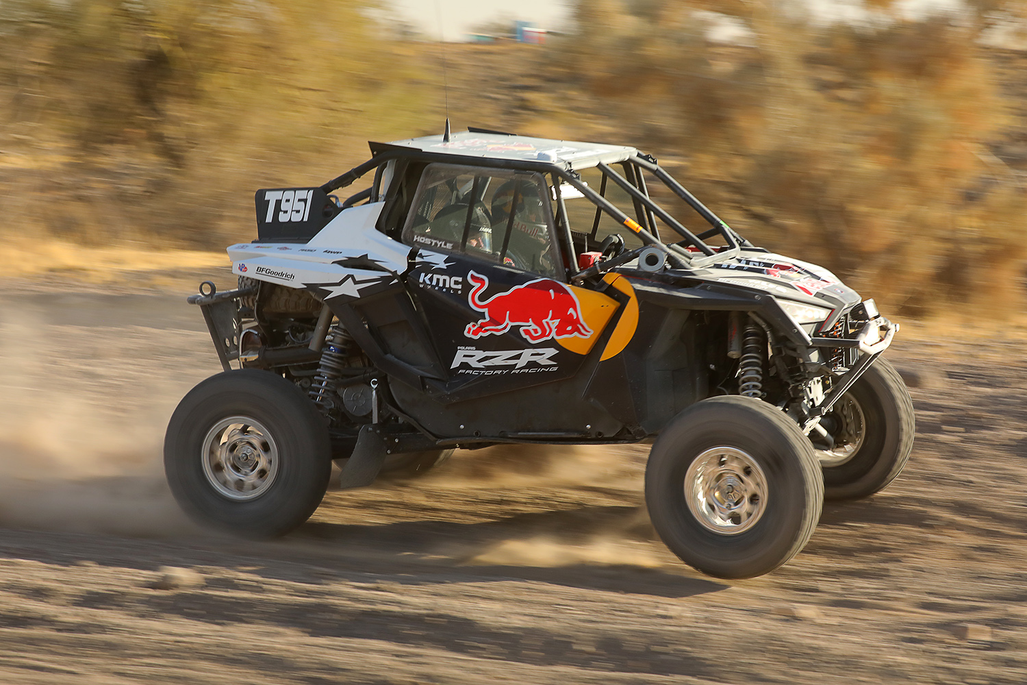 POLARIS RZR FACTORY RACING PREVAILS AT THE PARKER 250