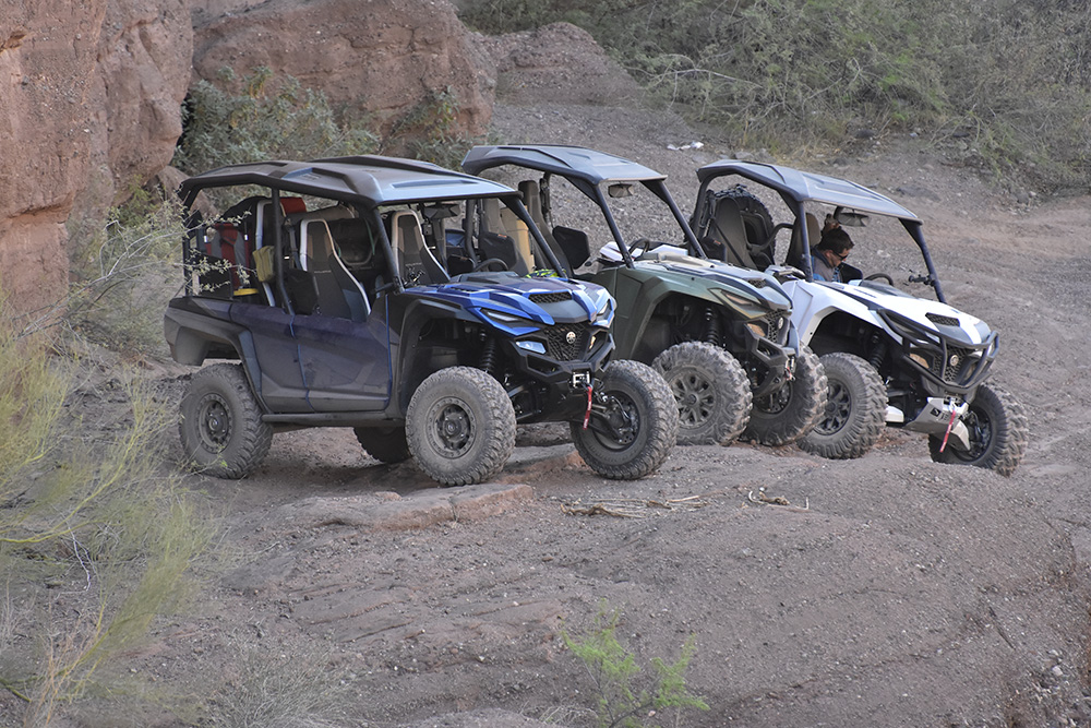 Yamaha RMAX on the Arizona Peace Trail