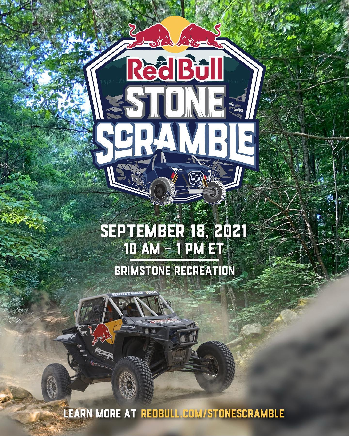 Red Bull Stone Scramble at Brimstone