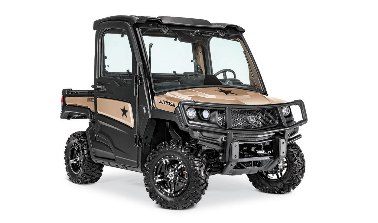2022 John Deere Gator XUV835M Honor Edition