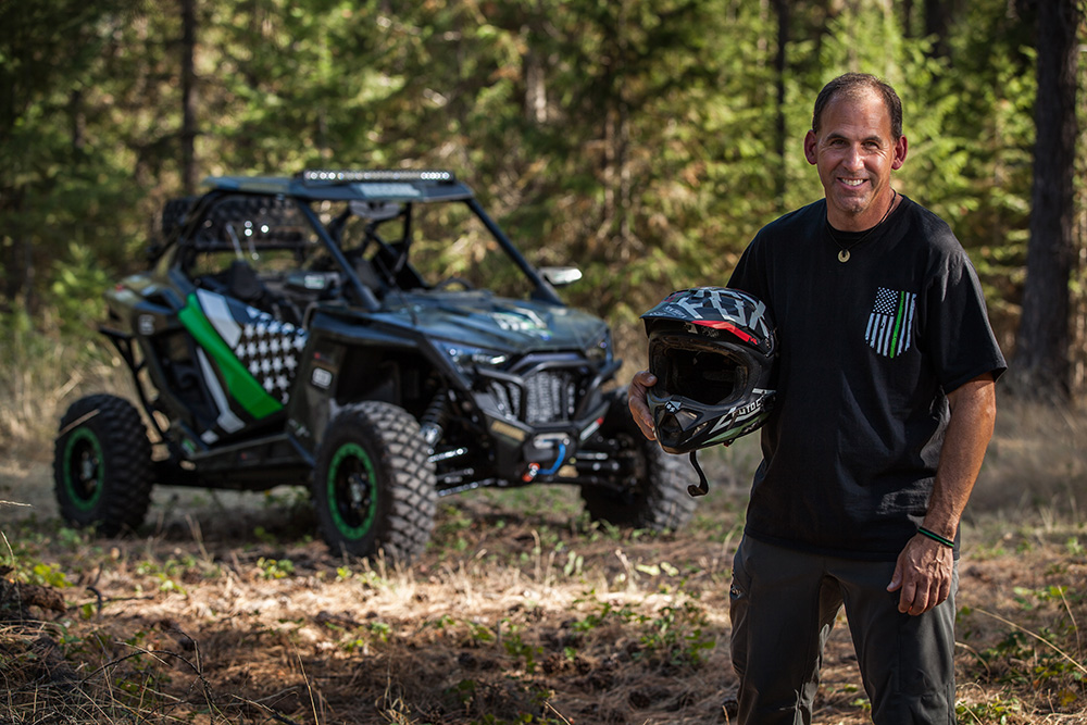 The Thin Green Line RZR
